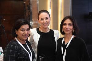 Anuradha Kaul, Melinda Yon & Nirvan Shroff
