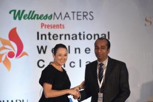 Melinda Yon with Abhishek Jain